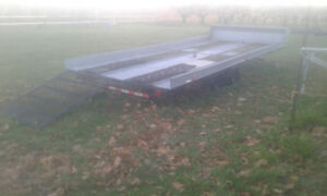 *8.5x20 4-place Snowmobile trailer w ramp road ready $2500 obo