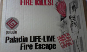 New Paladin LifeLine Fire Escape Rope,Spiderman Control Descend