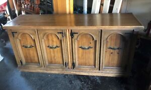 Solid Wood Sideboard - Buffet Cabinet