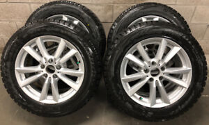 2015 X5 BMW Alloy RIMs With Low Mileage Bridgestone Blizzaks