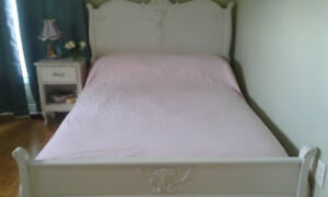Vintage/Antique White Double Bed Frame - Great Condition!