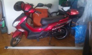 E-bike with new batteries and charger