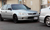 Honda Civic in mint condition with lots of new parts
