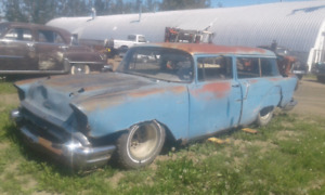 1957 Chev 2dr wagon for restoration