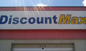 WELCOME TO DISCOUNT MAX. ST.THOMAS ONTARIO'S NEWEST RETAIL STORE