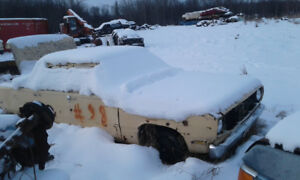Parting out 69 Valiant and other vehicles