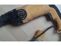 110v dewalt sds drill with hammer