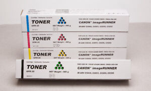 Canon GPR-30 Toner iR Advance C5045 C5051 C5250 C5255 Set of 4