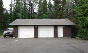 Double Garage for Storage or Parking - Avail Aug 1st