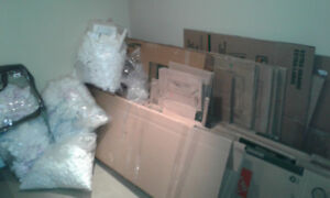 Moving boxes assorted