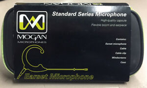 Mogan Earset Microphone For Shure Transmitters Brand New In Box