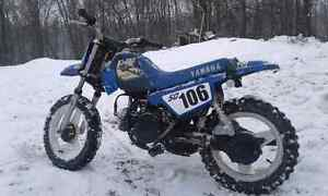 PW 50 Flat Track ready and ride it home around the yard after