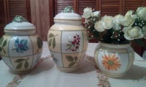 Canister / Vase set