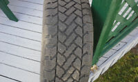 4 P205-65R-15 snow tires with rims
