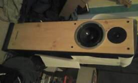 wharfedale floor standing speakers