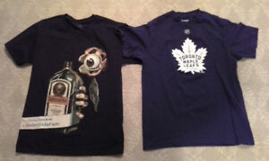 beer / sports (Leafs Andersen) t-shirts