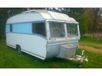 Vintage/Classic Pearman Briggs Safari Caravan