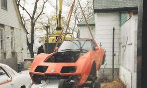 Corvette Body Sling