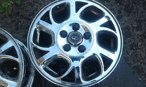 oldsmobile  intrigue  16inch chrome rims