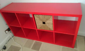 Looking for an IKEA KALLAX Shelving unit in RED (2x2 or 2x4) London Ontario image 1