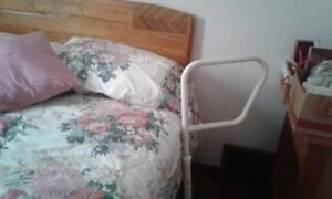 bed rail assist. helps you get out of bed