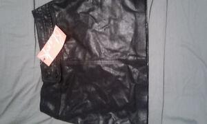 Blink Genuine Leather Skirt NWT