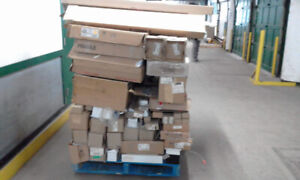 Electrical lighting fixtures and miscellaneous building material