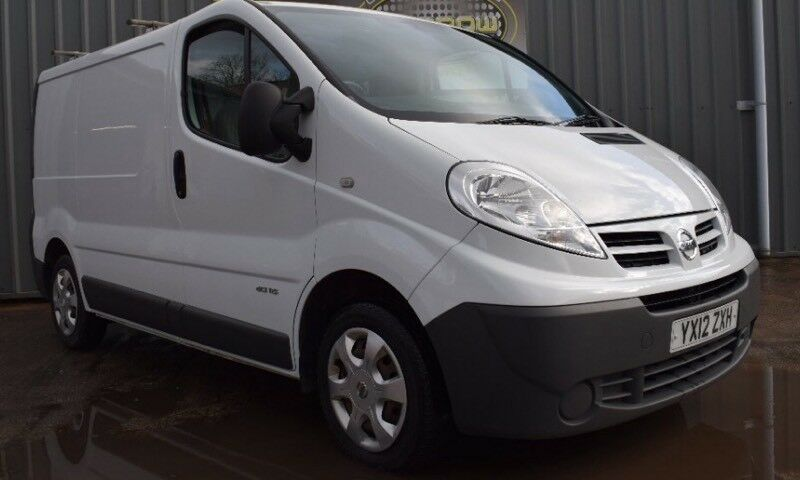 Nissan Primastar dci115 swb 2012, super inside and out, new clutch, FSH