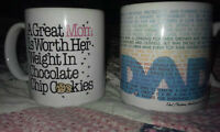 Moving Must Sell Mom & Dad Mugs