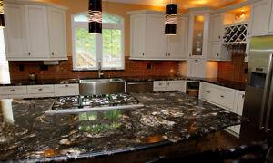 ~~Quartz~~Granite~~kitchen countertop $38/sqft on selected slabs
