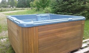 6 Person Salt Spring Hot tub and equipment for sale