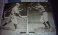 RARE 1909 BOSTON AMERICANS, BOSTON NATIONALS, PLAYERS