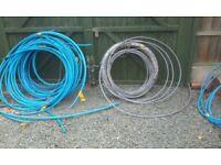 Job lot plastic water pipe