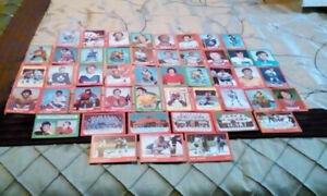 Hockey cards.