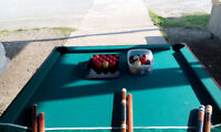 SNOOKER POOL TABLE 4' X 8'