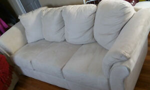 Single bed with mattress, and a Leons 3 seater sofa for sale