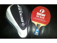 PEN HOLD TABLE TENNIS BAT WITH CASE