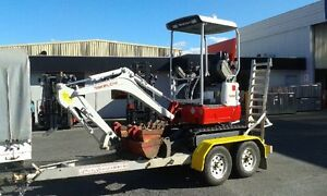 Mini Excavator for Dry Hire Evandale Northern Midlands Preview