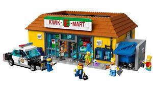 Complete Lego Simpsons Collection. Kwik e mart, house all figs!