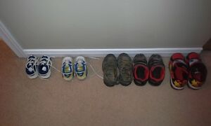 Toddler boys shoes and sandals Kitchener / Waterloo Kitchener Area image 1