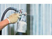 Professional Paint Sprayer / Wallpaper service Decorating service