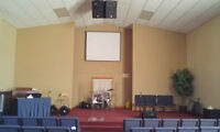 BEAUTIFUL CHURCH FACILITY FOR RENT!!!