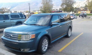 2010 Ford Flex green SUV, Crossover
