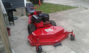 ** Ferris front deck 61 inch zero turn riding lawnmower $2100 ob