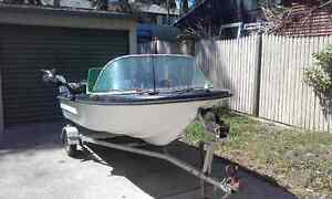 Swap 11ft with 25hp and a 55hp for bigger motor Bethania Logan Area Preview