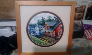 Framed picture 10 x 10