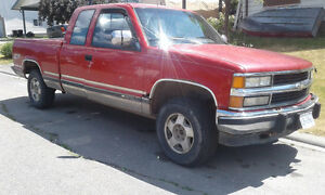 1996 Chevrolet C/K Pickup 1500 Chrome Pickup Truck