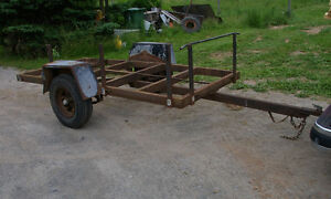 WOOD / YARD TRAILER - NO PAPERS
