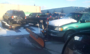 1998 Ford F-250 Arctic Plow poly 96""