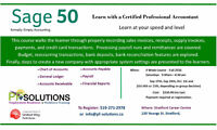 Learn SAGE 50 (Simply Accounting)
